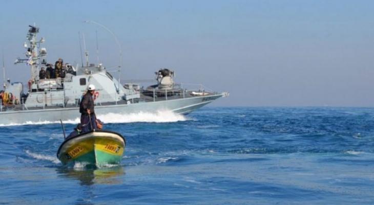 الصيد في بحر غزة