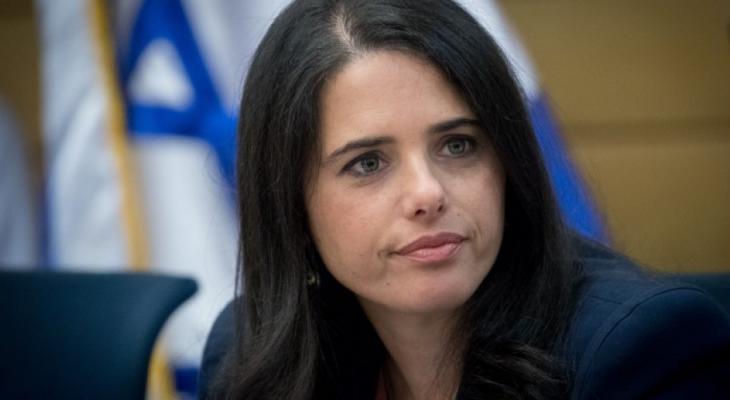 """شاكيد تؤيد ضم منطقة """"سي"""" في الضفة لإسرائيل"""