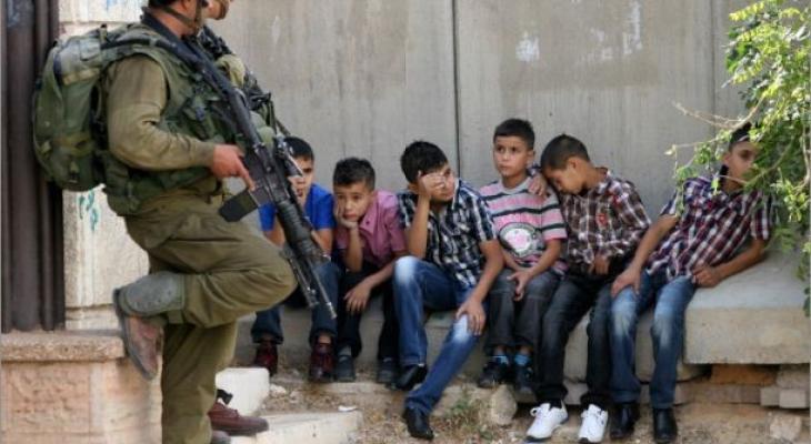 اعتقال أطفال