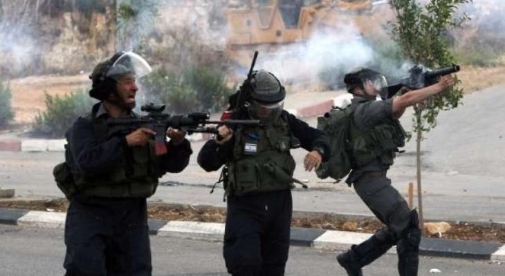 مواجهات مع الاحتلال ببلدة بيت أمر