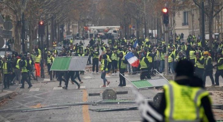 اضرابات فرنسا