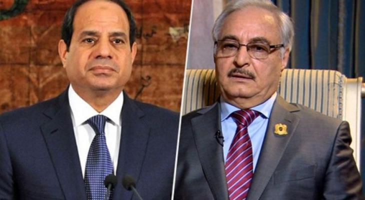 السيسي يستعرض آخر التطورات السياسية في ليبيا مع خليفة حفتر - وكالة ...