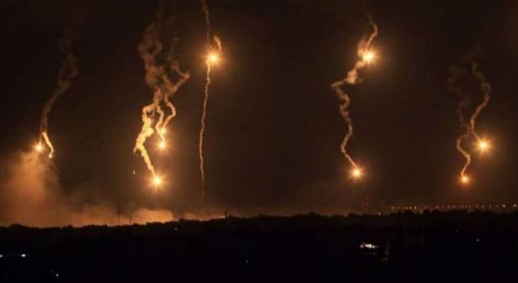 الاحتلال يُطلق قنابل إنارة على الحدود اللبنانية لهذا السبب!