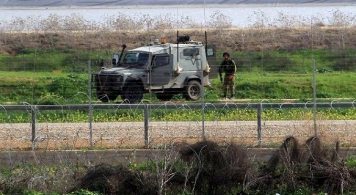 السياج الامني غزة