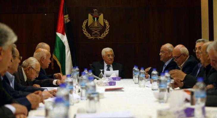 بيان مهم صادر عن الرئاسة الفلسطينية برام الله