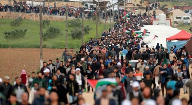 الهيئة الوطنية لمسيرات العودة تعلن اسم الجمعة القادمة