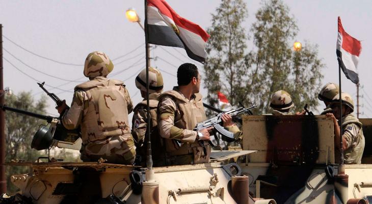 مقتل 6 عسكريين مصريين إثر هجوم على كمين للجيش بسيناء