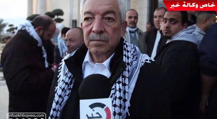 """بالفيديو: العالول يتحدث لـ""""خبر"""" عن إيقاد شعلة انطلاق الثورة الفلسطينية الـ""""54"""""""