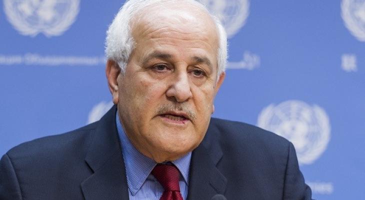 منصور يكشف عن جلسة مرتقبة لمجلس الأمن حول متابعة تنفيذ القرار 2334