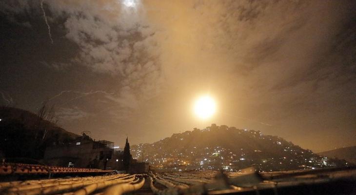 قصف إسرائيلي على ريف القنيطرة جنوب غرب سوريا