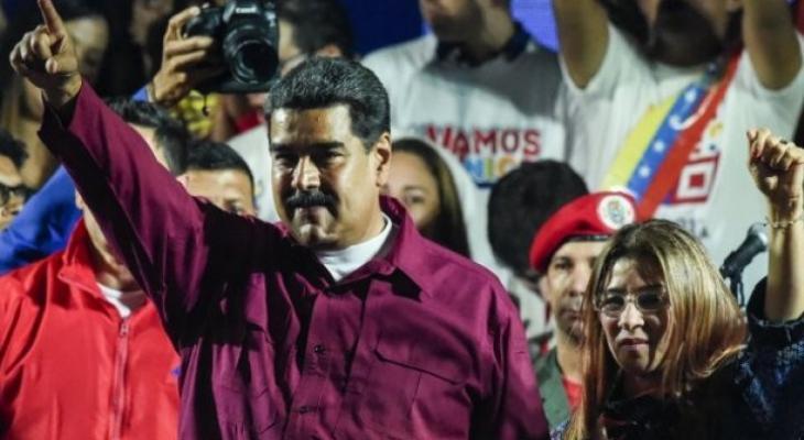 الرئيس الفنزويلي نيكولاس مادورو يفوز بولاية ثانية.jpg