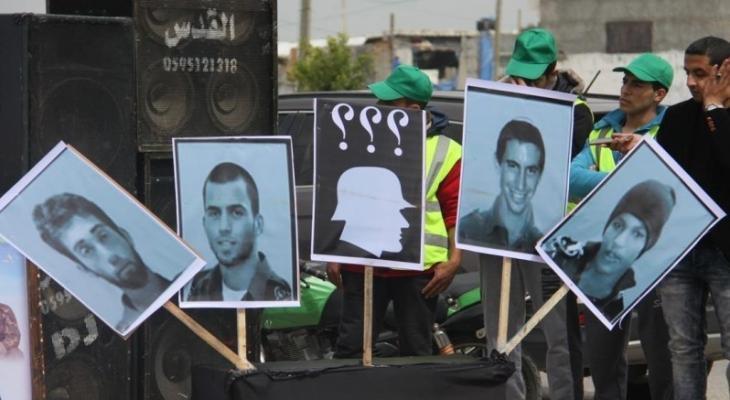 أسرى الاحتلال في غزة.jpg