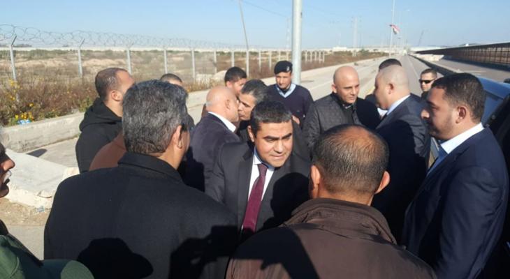 """بالصور: الوفد الأمني المصري يصل """"غزّة"""".. وهذه أبرز الملفات التي سيبحثها؟!"""