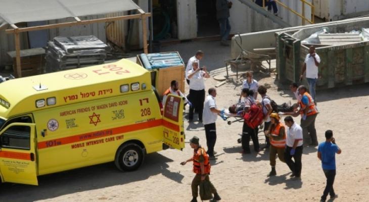 إصابة عامل قرب حيفا المحتلة إثر سقوطه من مرتفع