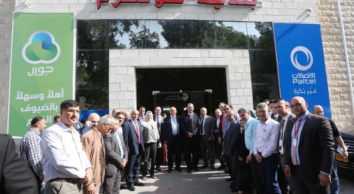 """مجموعة الاتصالات تدعم مشاريع حيوية في جامعة """"خضوري"""" وبلدية طولكرم"""
