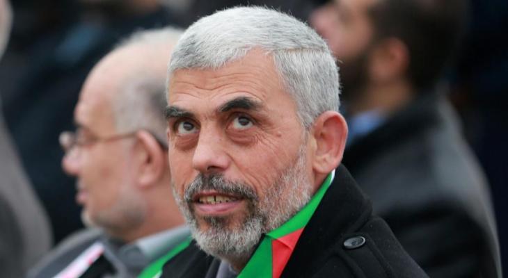 قائد حركة حماس في قطاع غزة يحيى السنوار