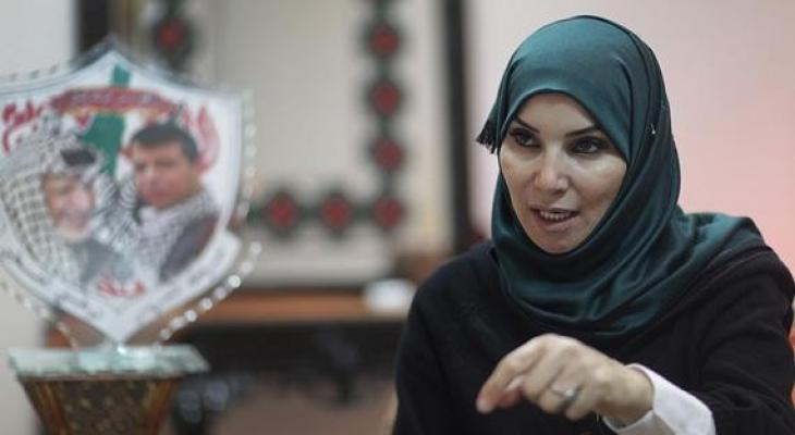 جليلة دحلان تصل قطاع غزة