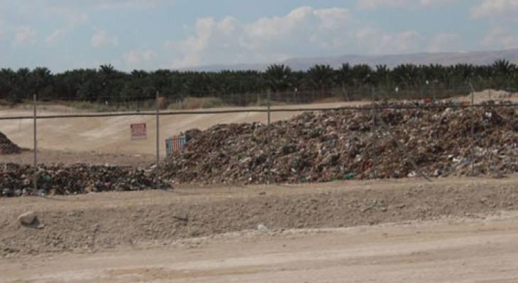 النفايات الاسرائيلية