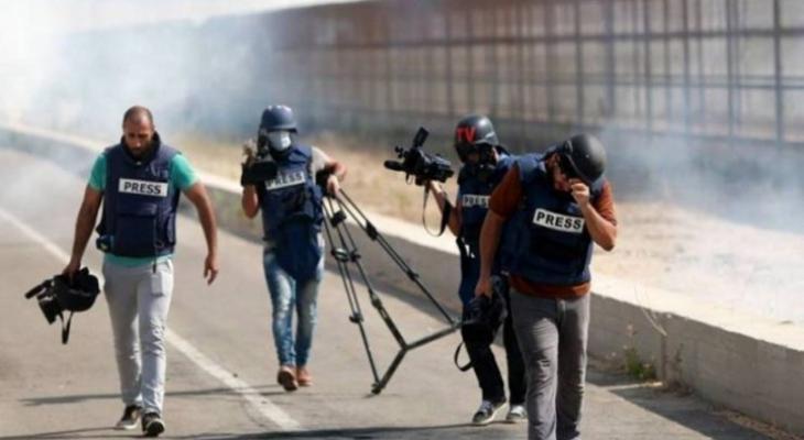 """""""شؤون الأسرى"""" تكشف اعتداءات الاحتلال بحق الصحفيين والطواقم الإعلاميةيين.jpeg"""
