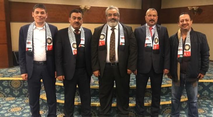 مازن الحساسنه: مجددا رئيسا لاتحاد رجال الأعمال الفلسطيني التركي