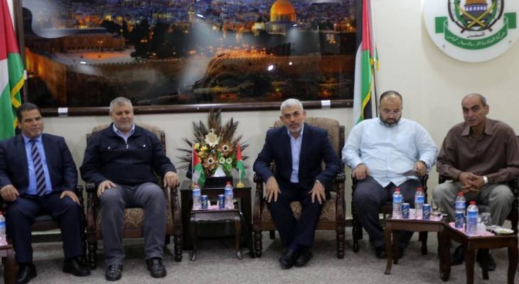 مشاورات حماس والفصائل