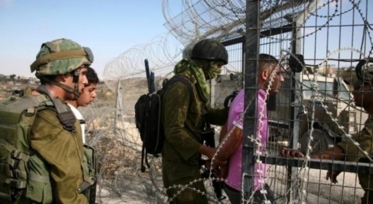الاحتلال يعلن اعتقال مواطن تسلل من غزة