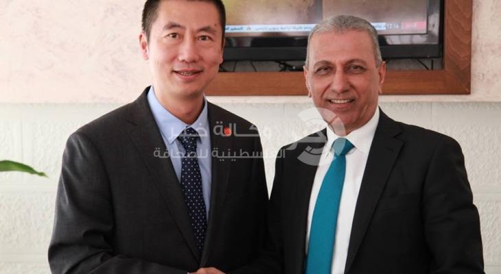 بالصور: المصري يبحث مع سفير الصين سُبل تعزيز العلاقات