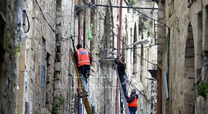 مشكلة الطاقة - فلسطين