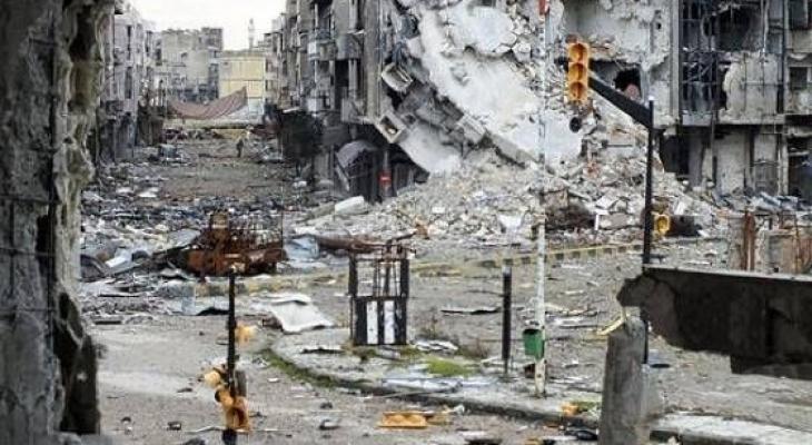ركام مخيم اليرموك