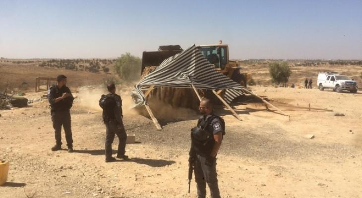 محكمة الاحتلال توصي بعقوبات ضد أهالي العراقيب لرفض تنفيذ أوامرها.jpg