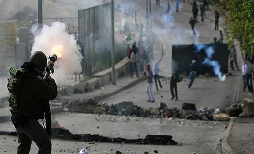 إصابات بالرصاص خلال مواجهات في بيت دجن شرق نابلس