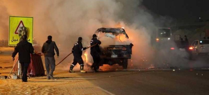 انفجار وسط القاهرة خلال ملاحقة إرهابي