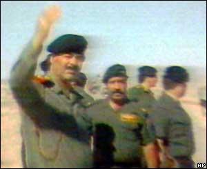 العراقي صدام حسين