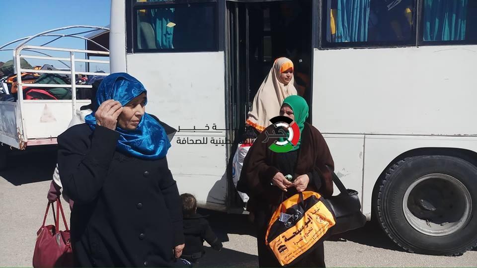 بدء وصول الفوج الأول من معتمري غزّة