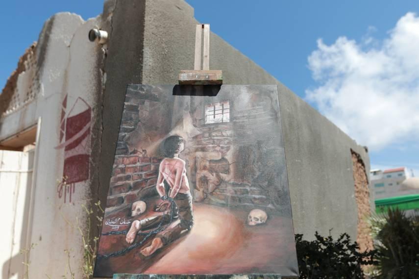 بلدية غزة تفتتح معرضًا فنيًا لمناسبة يوم الأسير