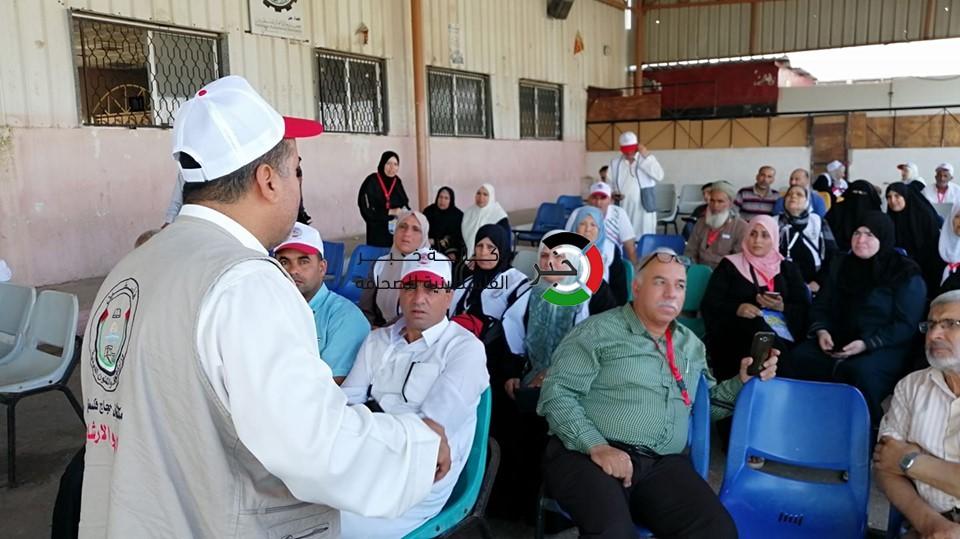 بدء مغادرة حجاج غزة إلى الديار الحجازية عبر معبر رفح