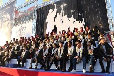 """حركة فتح """" ساحة غزة"""" تكرم أوائل الثانوية العامة"""