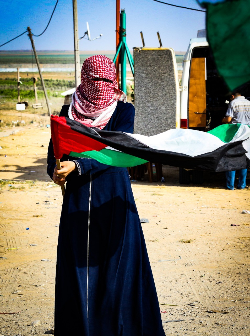 إصابات جراء قمع الاحتلال لمسيرات العودة وكسر الحصار شرق قطاع غزّة