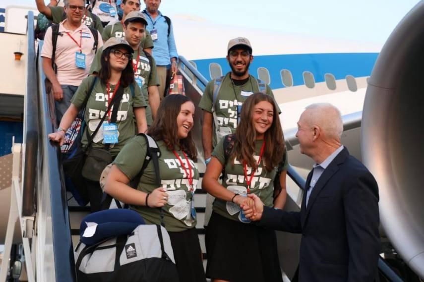 """""""242"""" مهاجر يصلون من أمريكا اللاتينية إلى فلسطين المحتلة"""
