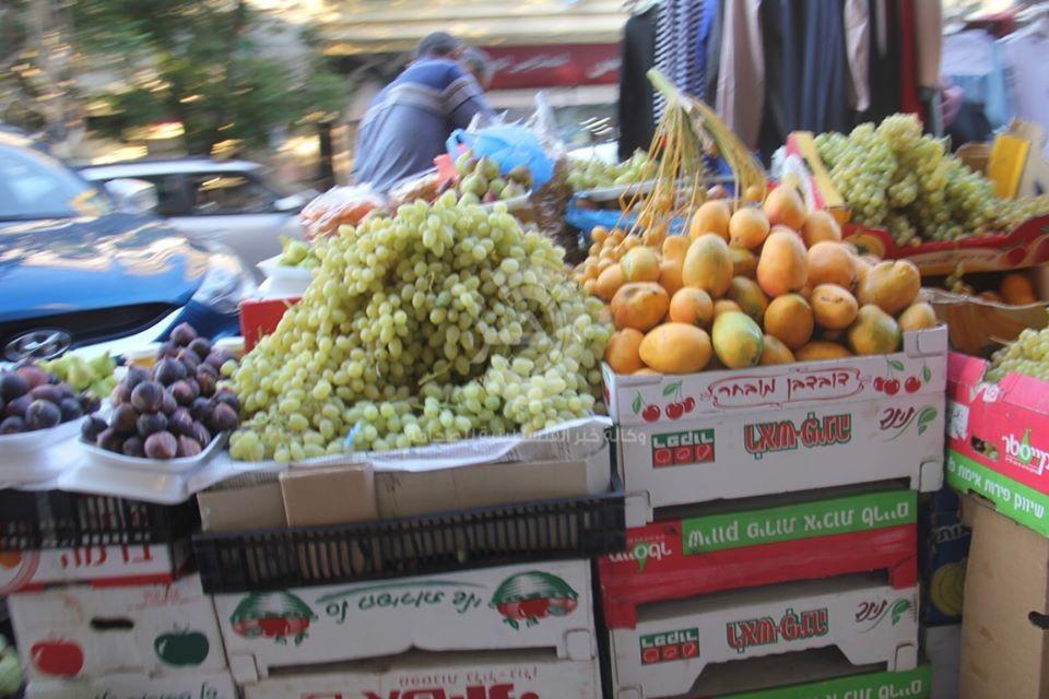 """بالصور: عدسة وكالة """"خبر"""" ترصد أجواء عيد الأضحى في أسواق قطاع غزّة"""