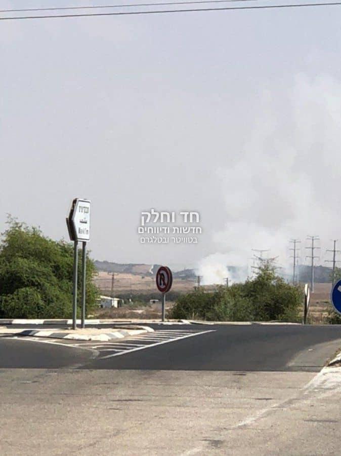 محدث بالصور: إطلاق صواريخ من غزّة صوب مستوطنات الغلاف