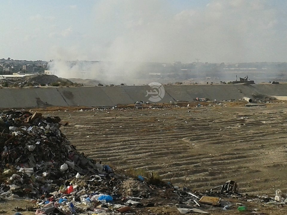 شاهد بالفيديو والصور: كارثة بيئية تُهدّد حياة الآلاف من سكان شمال قطاع غزّة!!