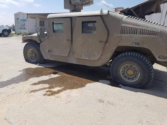 شاهد: حوامة تُطلق جسماً مجهولاً صوب قوة لجيش الاحتلال جنوب قطاع غزّة