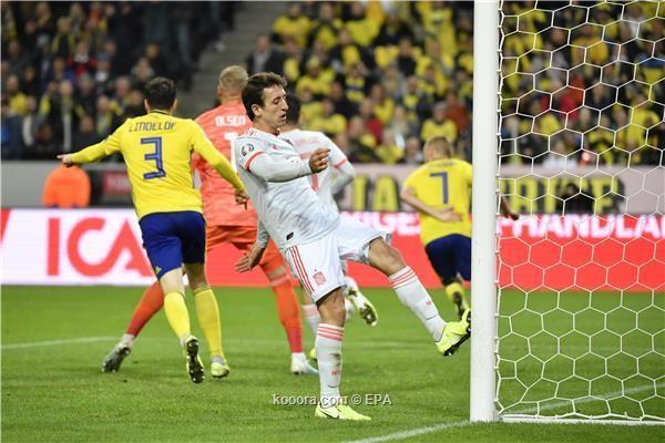 إسبانيا تتأهل ليورو 2020 بهدف قاتل 52fre