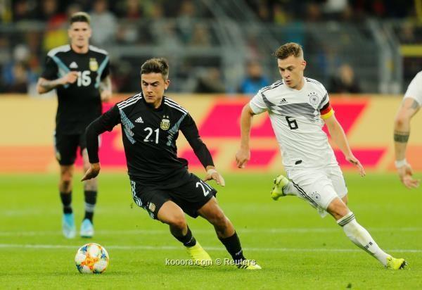 منتخب الأرجنتين يحول تأخره بهدفين إلى تعادل مثير مع ألمانيا