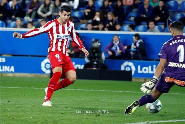 اتلتكو مدريد يهدر نقطتين امام الافيس
