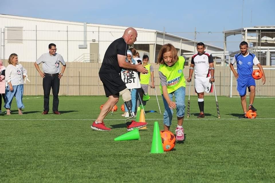 انطلاق أول فريق لناشئي كرة القدم لذوي البتربغزّة