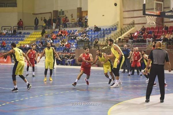 الجزيرة المصري يهزم الأهلي في دوري السلة