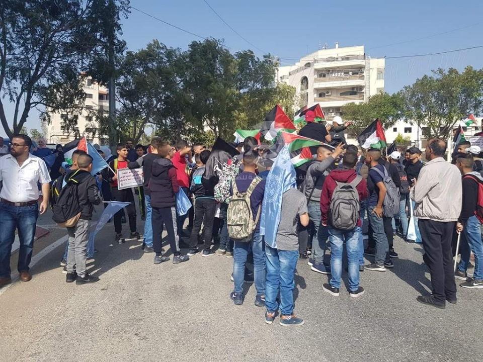 شاهد بالفيديو والصور: وقفة برام الله للتنديد بالعدوان الإسرائيلي على غزة