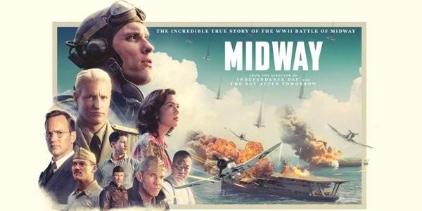 """بالفيديو والصور: فيلم """"ميدواي"""" يتصدر إيرادات السينما في أمريكا الشمالية"""